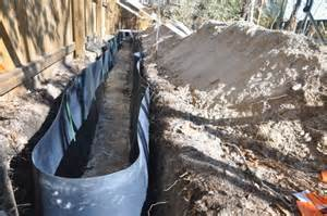 installing a bamboo rhizome barrier to control bamboo