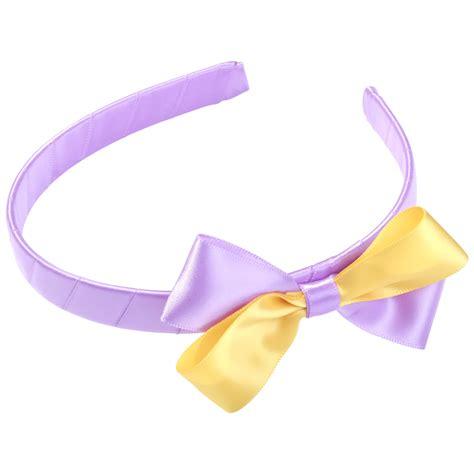 Headband Bow school hair accessories satin bow headbands school pride
