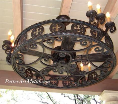 spanish style ceiling fans gothic ceiling fan enclosure wrought iron gothic in