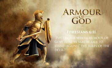 the whole armor of god the truth stands forever
