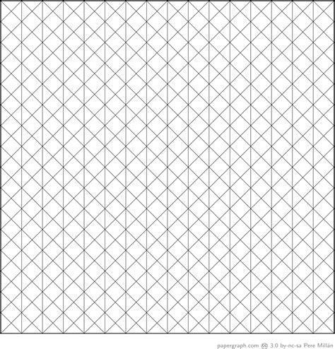 isometric graph paper with lines every 1cm