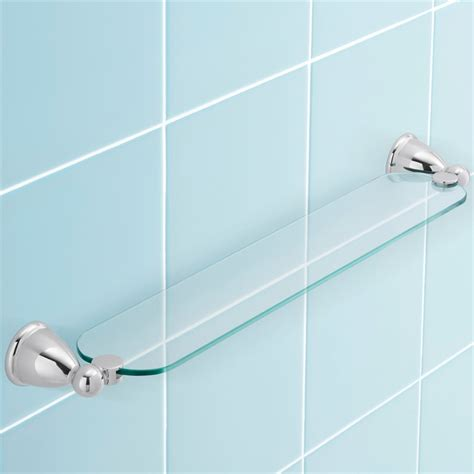 stylus chrome venecia glass shower shelf bunnings warehouse