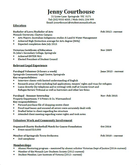 5 Lawyer Resume Templates Doc Pdf Free Premium Templates Lawyer Resume Template