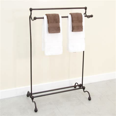 white bathroom towel racks free standing towel holder for bathroom pkgny com
