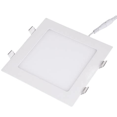 Square Recessed Light Fixtures Ultra Thin Square Led Panel Lights Home Office Bulb Recessed Fixture Ls 3432 Ebay