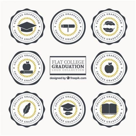 www freepik es plantillas de graduacion logotipos para la graduaci 243 n descargar vectores gratis
