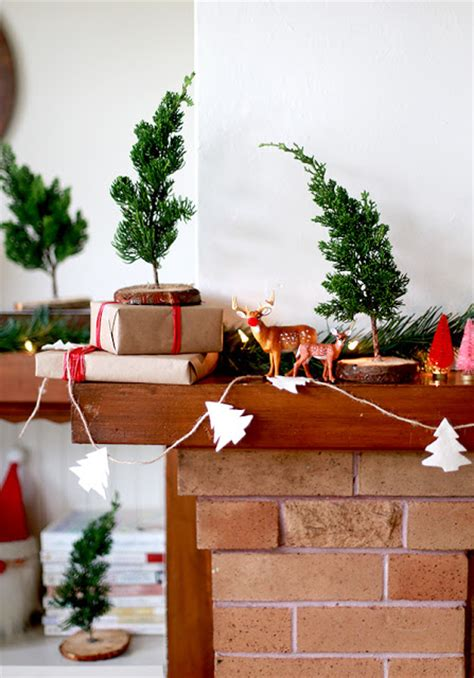 diy mini christmas trees from tree lot scraps do it