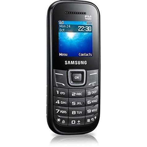 sim free mobile phones samsung gt e1205y sim free mobile phone black