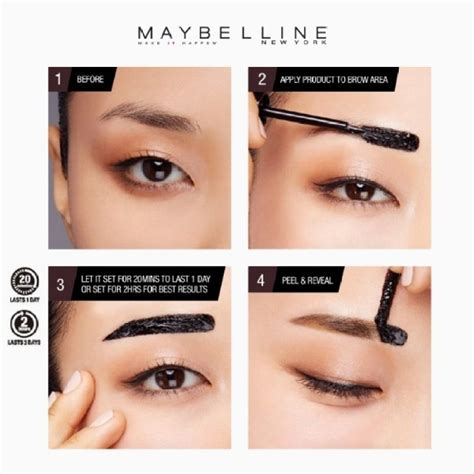 tattoo brow maybelline review boots maybelline fashion brow tattoo gel tint mayflor and me
