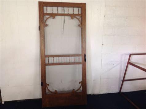 wood screen door hardware lot detail wooden screen door with hardware