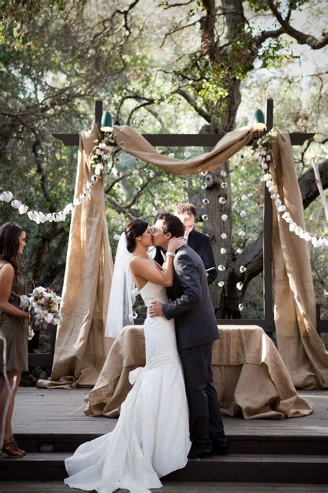 Wedding Arch Another Name by Eye Catching Burlap Wedding Arch Decorations Must Catch
