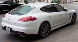 What Does Porsche File Porsche Panamera 970 Facelift Rear View Jpg
