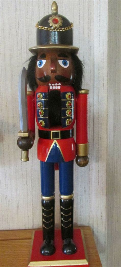 african american christmas nutcracker ethnic black royal