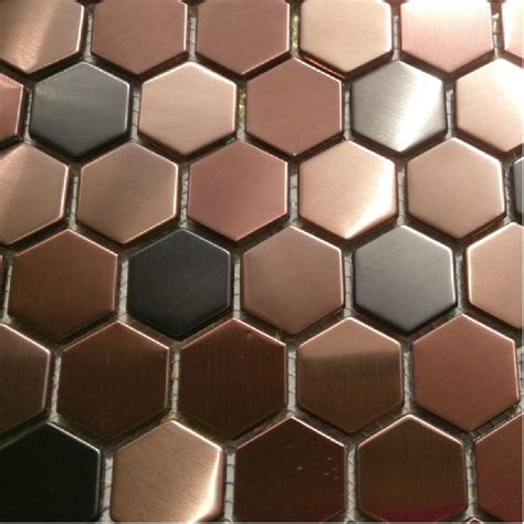 hexagon mosaic mosaic wall tiles backsplash smmt055