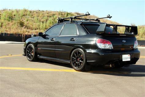 subaru wrx spoiler carbon fiber rear roof spoiler for 2006 2007 subaru