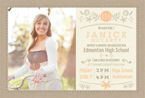 college house ideas graduation open house invitations gangcraft net