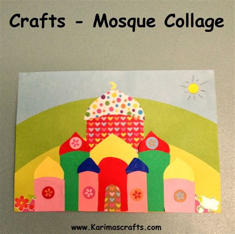 islamic arts and crafts for 13 creative mosque crafts to make with in the playroom