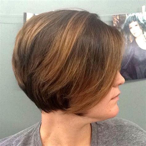 older eoman eith balayage highlights 40 on trend balayage short hair looks