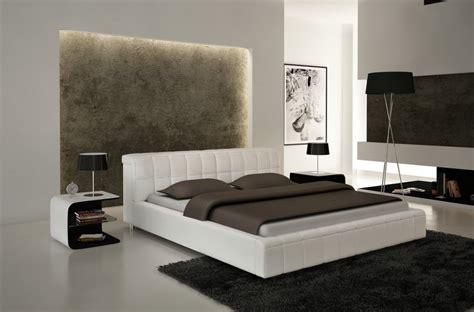 Lits Design Italien by Lit Design En Cuir Italien De Luxe Smiley Blanc