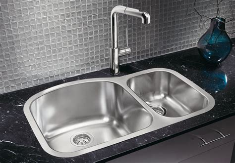 blanco wave 1 1 2 plus bowl contemporary kitchen sinks