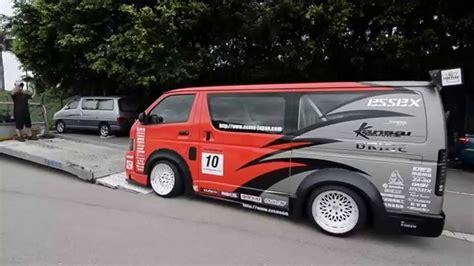 Toyota Hiace Modified Thailand Toyota Hiace Drift Hong Kong