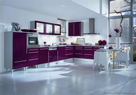 purple kitchen decorating ideas purple kitchens