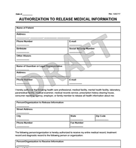 State Of Nh Criminal Record Release Authorization Form Records Release Form Create A Request For
