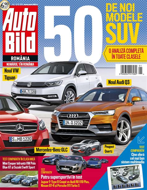 Auto Bid by Revista Auto Bild Nr 1 Din 8 Ianuarie 2015 Headline