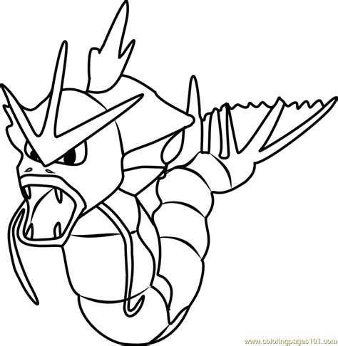 pokemon coloring pages gyarados gyarados pokemon go coloring page free pok 233 mon go