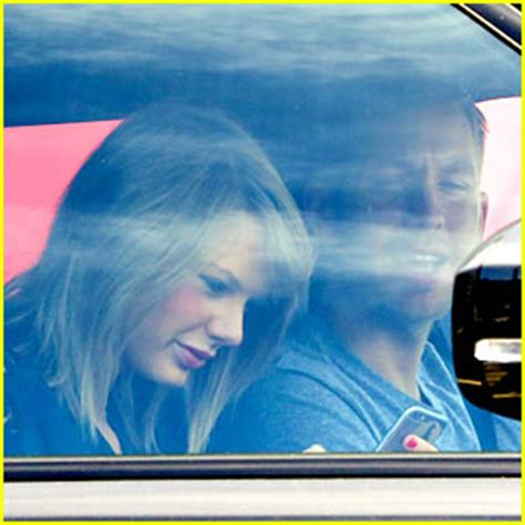 calvin harris house taylor swift calvin harris pictured leaving her house calvin harris taylor swift