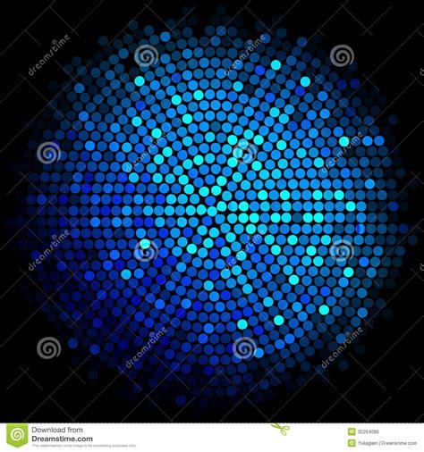 blue disco lights background royalty  stock image image