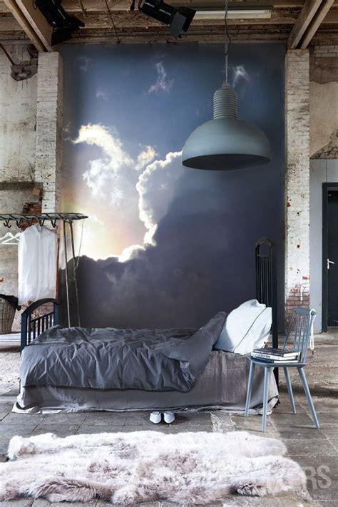 cloud wall mural 13 tips about how to decorate with cloud themed wall