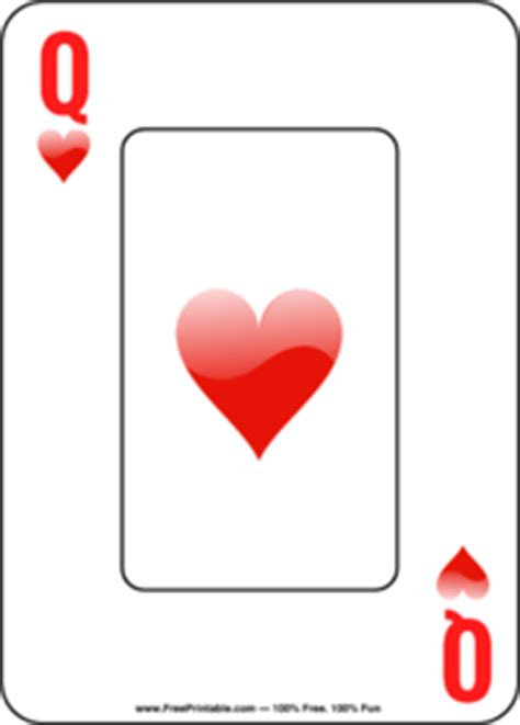 king of hearts card template of hearts card