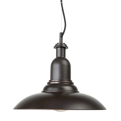brilliant 35cm 240v 60w bronze lane pendant light