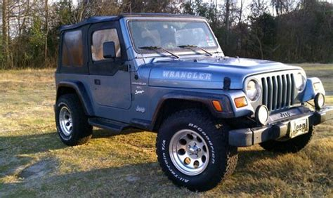 how to work on cars 1998 jeep wrangler on board diagnostic system buy used 1998 jeep wrangler sport sport utility 2 door 4 0l in tallahassee florida united