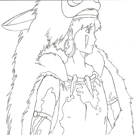 Princess Mononoke Coloring Pages Free Coloring Sheets Princess Mononoke Embroidery Coloring Pinterest