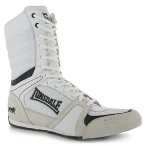 lonsdale cyclone boxing boots mens white black 11 uk uk