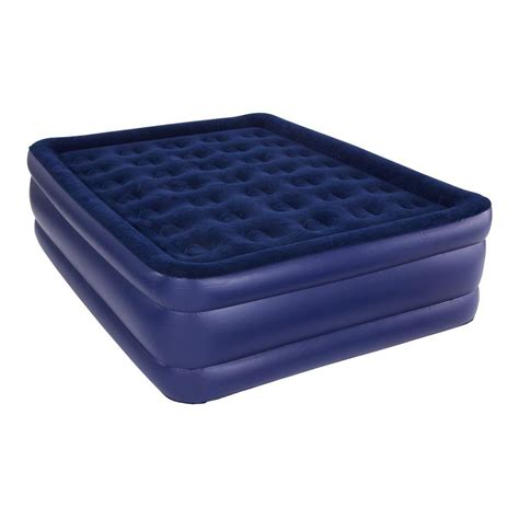 comfort size pure comfort queen size raised air mattress 8501ab the