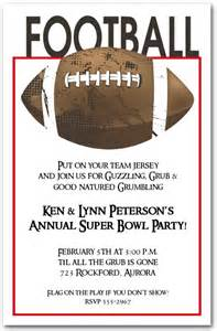 Party invitations super bowl detail ideas simple free format easy cool