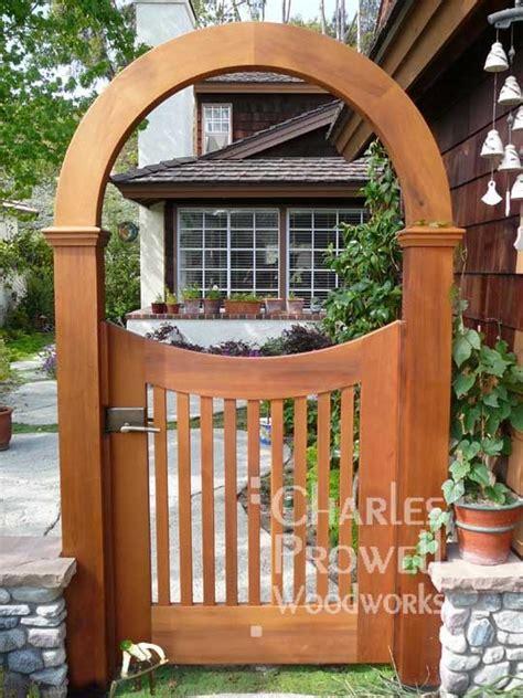backyard arch wooden garden gate with arch backyard fences pinterest