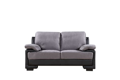 microfiber or leather sofa leather and microfiber sofa furniture gt living room