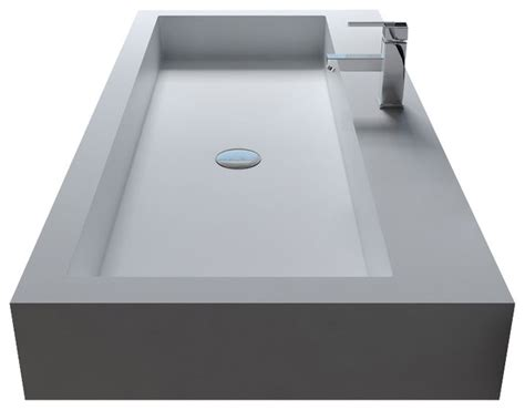 solid surface bathroom sink solid surface stone resin wall hung sink contemporary