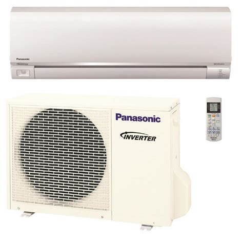 Ac Unit Panasonic panasonic 9 000 btu 3 4 ton exterios ductless mini split air conditioner with heat 208