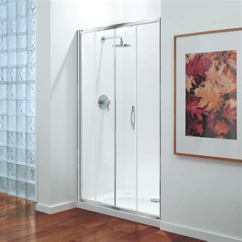 Coram Shower Doors Coram Premier Sliding Shower Door From Plumbing Co Uk