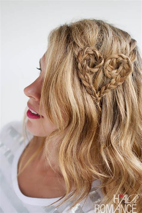 braided hairstyles heart 13 valentine s day hairstyles hairstyles for girls