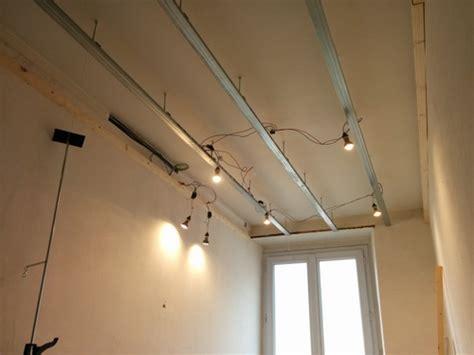 Faire Un Faux Plafond Salle De Bain by Salle De Bain Du Premier Faux Plafond Et Porte