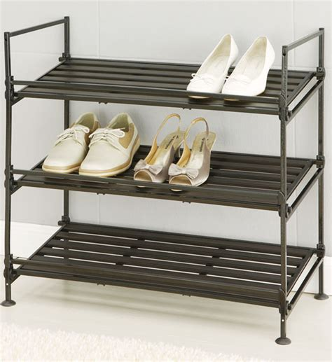 shoe rack 3 shelf in shoe racks