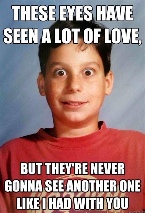 Weird Funny Memes - weird eyes kid memes quickmeme
