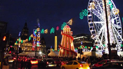 Five Of The Best Christmas Markets In Scotland Scotsman George Square Lights