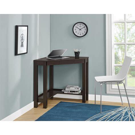 espresso corner desk dorel parsons espresso corner desk